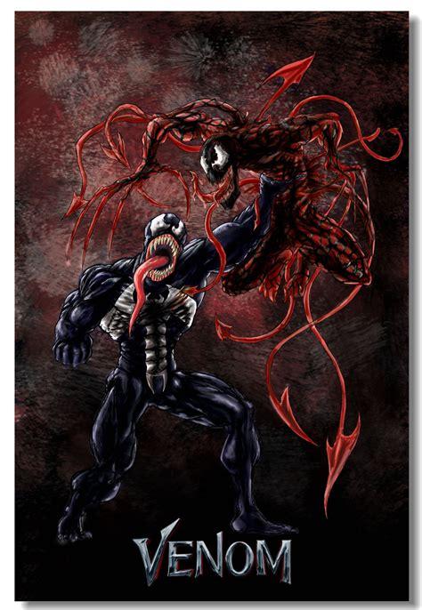 custom canvas wall decor marvel venom poster venom