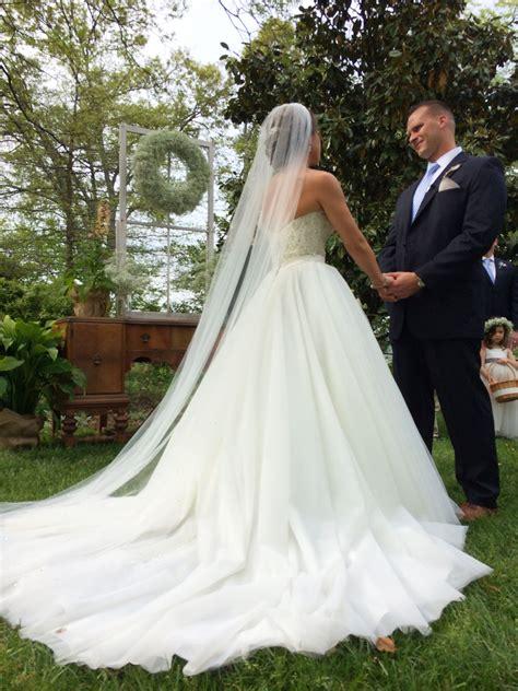 Allure Bridal Princess Wedding Dress Long Train Long