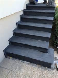 Escalier Beton Exterieur En Kit by Beautiful Habillage Escalier Exterieur Granit Gallery