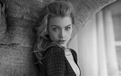 Dormer Natalie 4k Actress Monochrome Wallpapers 5k