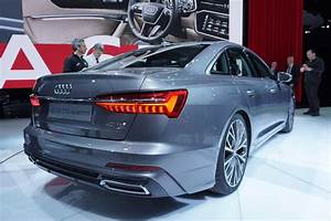 2019 Audi A6 Reveals Fresh Face And Four Wheel Steering In