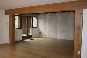 Poutre En Chene : menuiserie bois jura cuisine escalier sur mesure ~ Premium-room.com Idées de Décoration