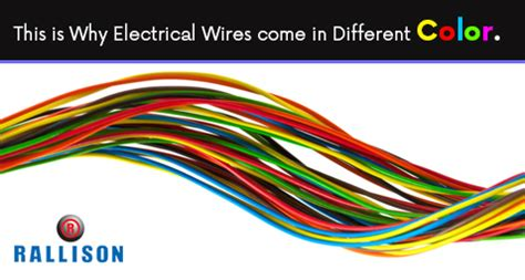 what color is electricity what does different color of wires play in electric