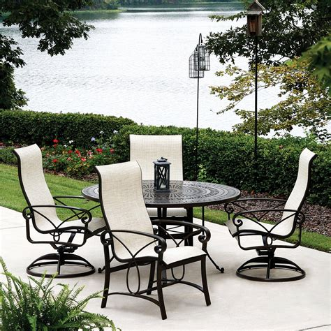 modern outdoor ideas patio furniture brands  leather