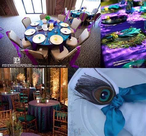 peacock wedding decorations thetwentysomethingblog