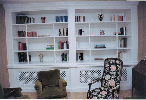 plan de cuisine bois a bibliothèque en bois laqué blanc album photos le