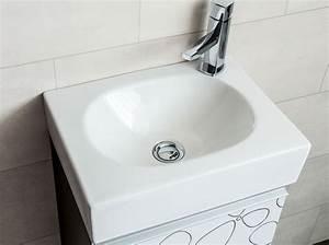 Gäste Wc Waschtisch Set : badm bel set g ste wc ice spiegel waschbecken waschtisch 40cm ~ Markanthonyermac.com Haus und Dekorationen
