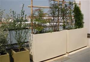 grands bacs a plantes pots de fleurs et jardinieres pour With grande jardiniere pour terrasse