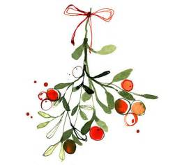 Christmas Mistletoe Illustration