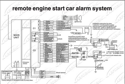 Car Alarm Wiring Diagram Product by Wholesale Remote Engine Start 1 Way Car Alarm System With