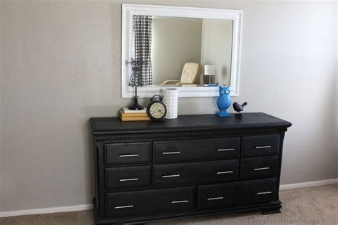 black and white dresser fit crafty stylish and happy dresser transformation