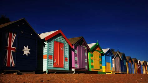 Brighton Bathing Boxes, Attraction, Melbourne, Victoria ...