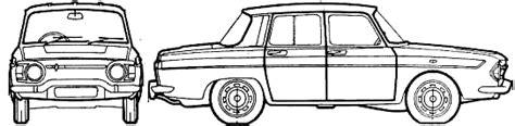 1965 renault 10 sedan blueprints free outlines
