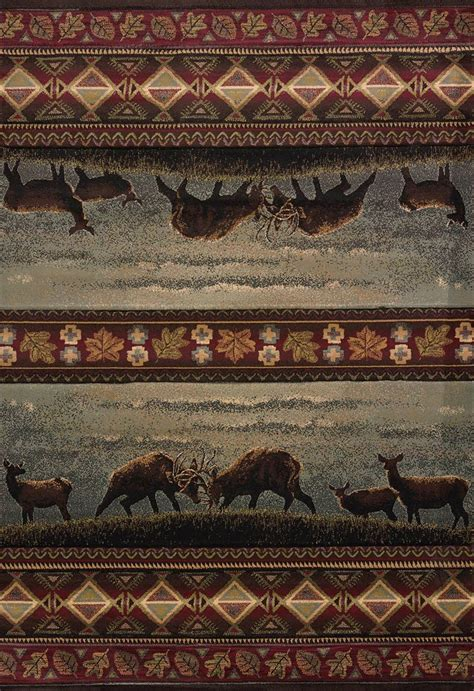 Native Landscape Rug 2 x 7