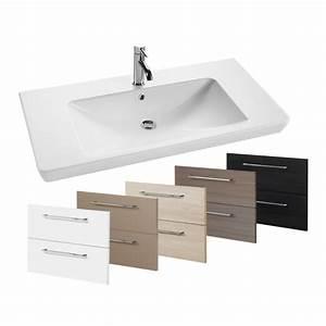 Waschtisch Mit Füßen : badm bel set waschtisch mit led spiegelschrank grau dekor scanbad bad elegant ~ Indierocktalk.com Haus und Dekorationen