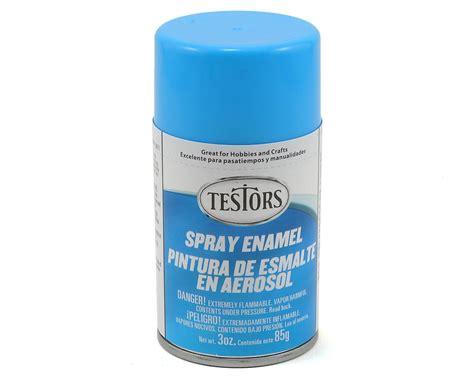 Light Blue Spray Enamel Paint (3oz) By Testors [tes1208t