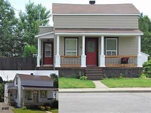 refaire facade maison With renovation maison exterieur avant apres 5 amenagement de linterieur de votre maison en bois