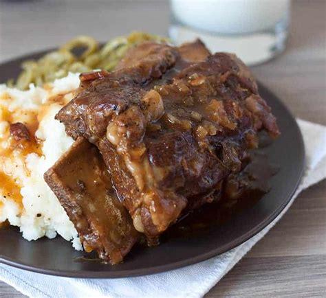 pressure cooker instant pot bone  beef short ribs