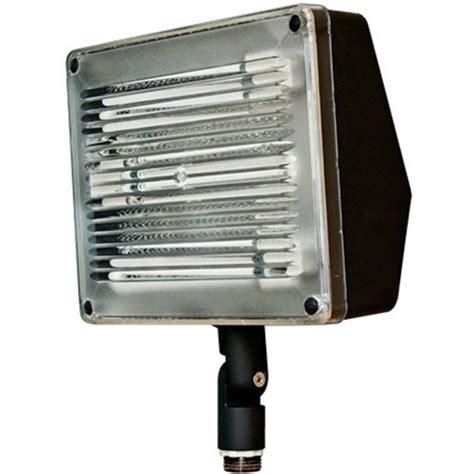 filament design adrien 3 light black outdoor flood light