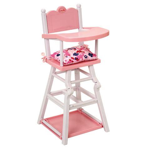 chaise haute pour poupon chaise haute pour poupon corolle corolle king jouet