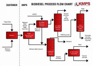 Biodiesel Process Flow Diagram
