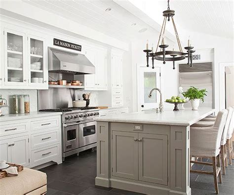 slate grey kitchen cabinets slate flooring instead of hardwood pitched ceiling with 5318