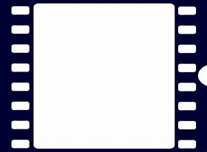 Navy Blue Film Strip Clip Art at Clker.com - vector clip ...