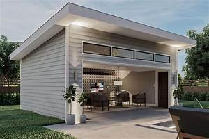 Plan, 62971dj, Contemporary, Poolhouse, Or, Work