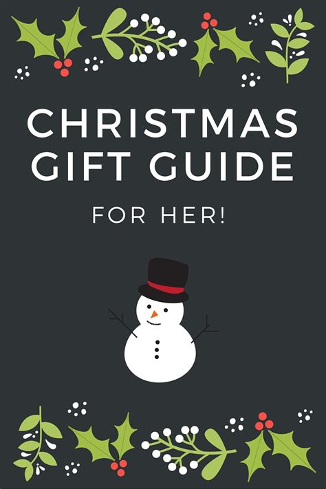 christmas gift guide for her best stuffers for geez gwen