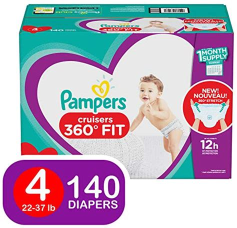 Upc 037000931980 Pampers Diapers Size 4 Cruisers 360