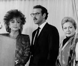 Dame Elizabeth Taylor, Dr. Michael Gottlieb, and Dr ...