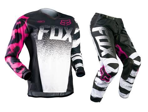 childrens motocross gear fox mx gear new 2015 180 youth black pink kids mtb bmx
