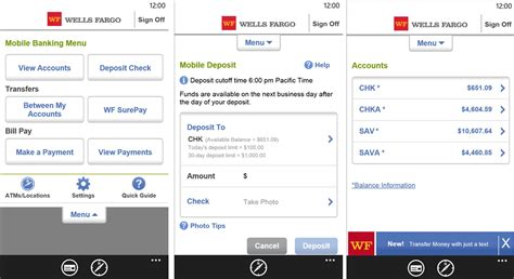 Official Wells Fargo banking app for Windows Phone 8 is ...