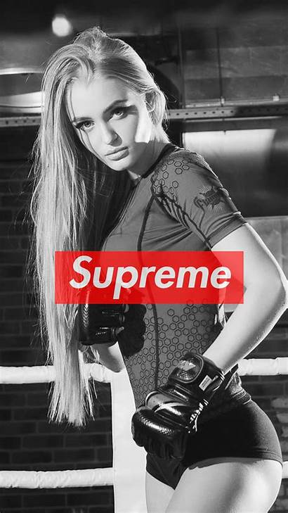Supreme Iphone Gir Wallpapers Cool Fitness Webstaqram