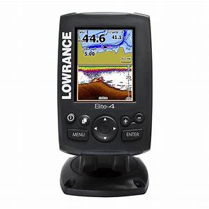 Lowrance Elite 4 Fishfinder Gps Chartplotter With