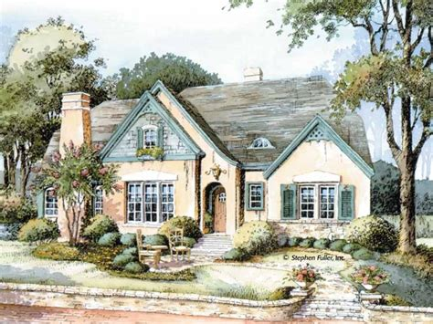 French Country Cottage English Country Cottage House Plans