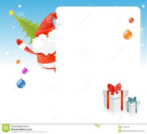 pap 225 noel 225 rbol de navidad tarjeta en blanco para el