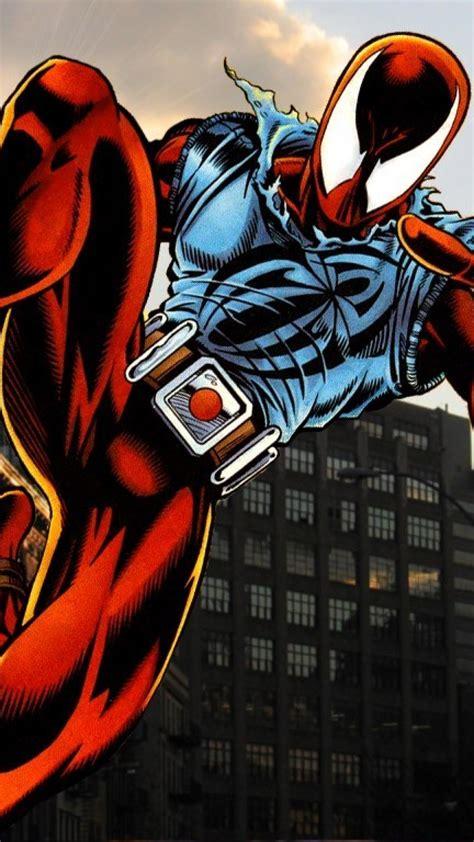 comics superheroes marvel scarlet spider ben reilly