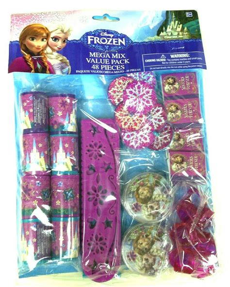 disneys frozen anna elsa party favor mega pack pc
