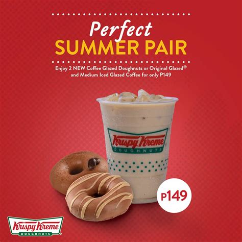 There are also bagels and oatmeal to choose. Manila Shopper: Krispy Kreme Perfect Summer Promos: April 2018