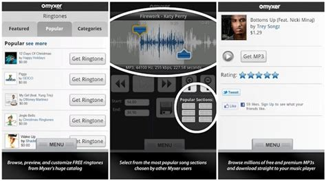 myxer ringtones for android free ringtone downloads site app to free ringtones
