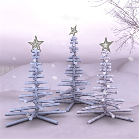 christmas stick tree stylish trowix