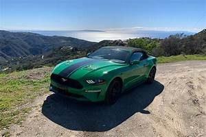 2019 Ford Mustang EcoBoost Convertible Review: Strange ...