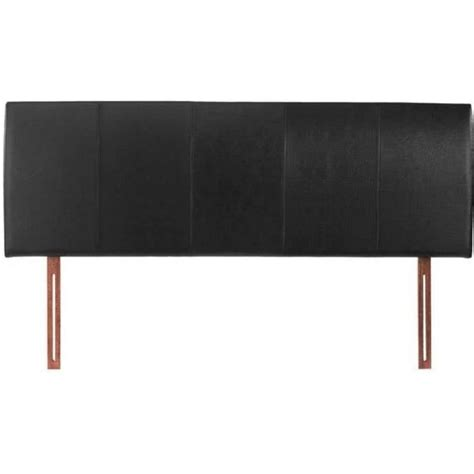 buy black double 4ft6 headboard faux leather hamburg from