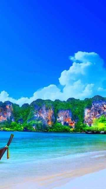ao nang beach landscape thailand wallpapers hd  desktop