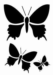 modele pochoir gratuit imprimer papillon pictures With pochoir industriel pour peinture