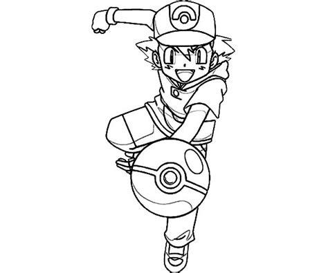 ash ketchum throw pokemon ball  pokemon coloring page coloring sky