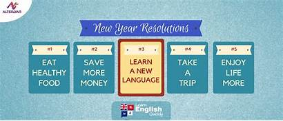 Resolution Resolutions Language Learn January Usher Decided