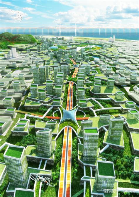 Dachausbau Zukunft Planen by Gallery Of China Envisions A Futuristic Carbon Neutral
