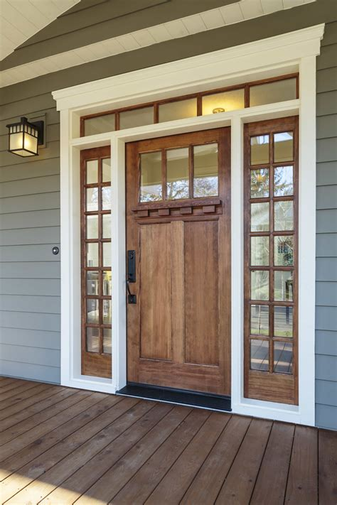 Windows Entry Doors Give Your Home A Facelift With Wood Entry Doors